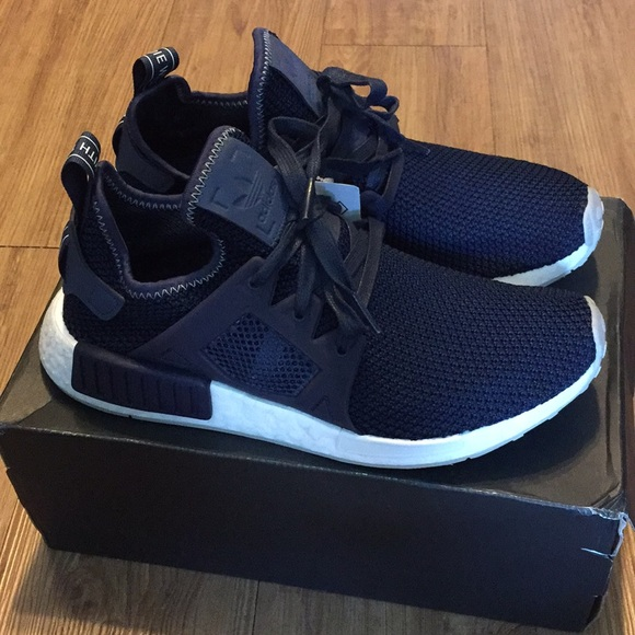 8b4c2c10c3a1 Adidas NMD XR1 Navy Blue Women s Shoe 8.5